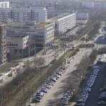Zingster Straße mit Blick aufs Lindencenter