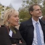Karin Halsch mit Michael Müller