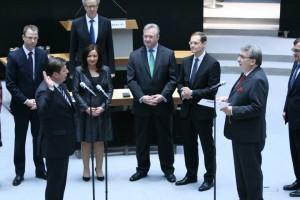 Senator Andreas Geisel bei seiner Vereidigung