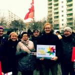 Demonstration für Vielfalt und Toleranz in Hohenschönhausen