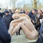 """Die Statue """"Elegie"""" am Obersee"""