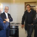 Im Gespräch mit Norbert Prochnow (Union-Hilfswerk), Arndt Ulrich und Lutz Lakomski