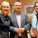 mit Bezirksbürgermeisterin Birgit Monteiro und dem Vorsitzenden des Fördervereins Dr. Rüdiger Schwarz